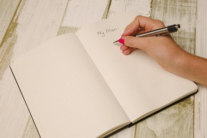 Planejar o dia de trabalho e suas tarefas é fundamental para saber qual meta pretende alcançar