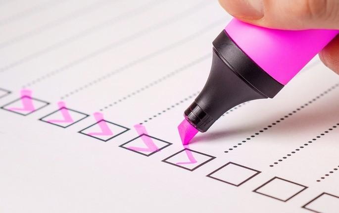 imagem checklist