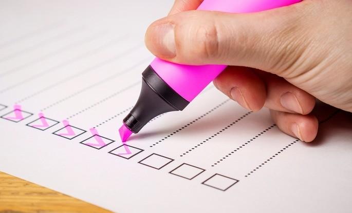 Crie o hábito de planejar o seu período de estudos