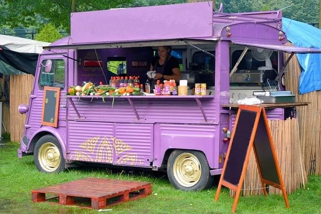 imagem do caminhão de food truck