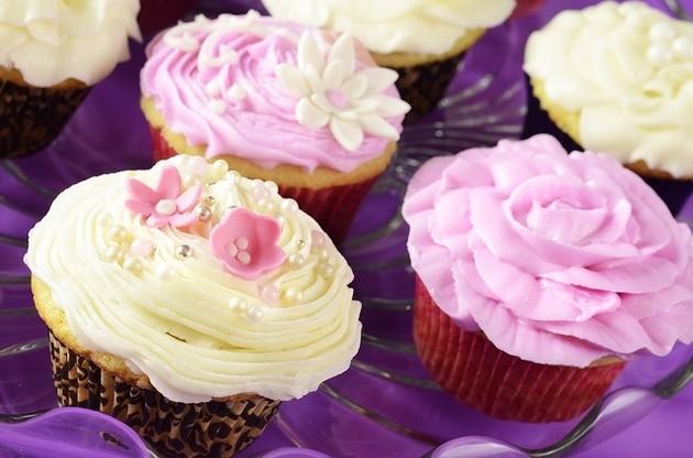 imagem de cupcakes