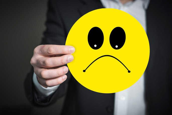 O mau humor é uma das características do comportamento passivo agressivo
