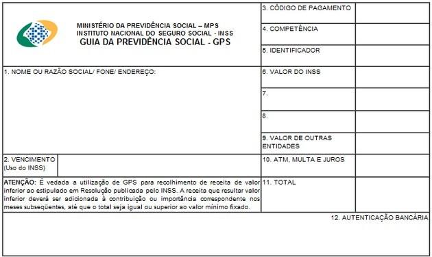 GPS - Guia de Previdência Social