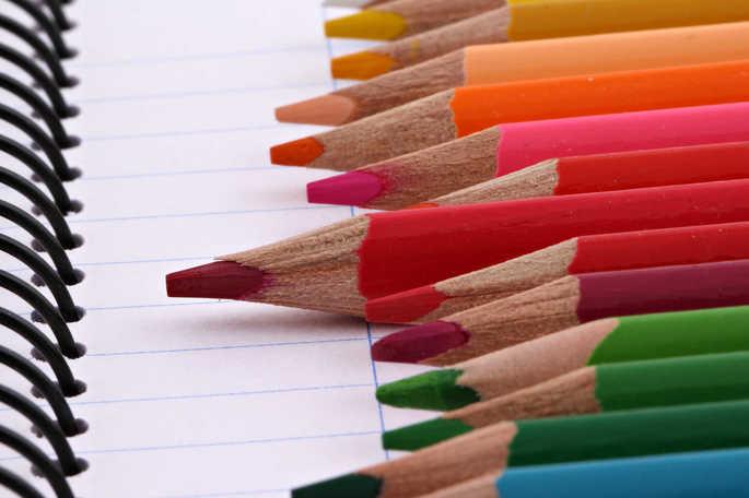 Através do uso de cores é possível criar um sistema particular de classificação