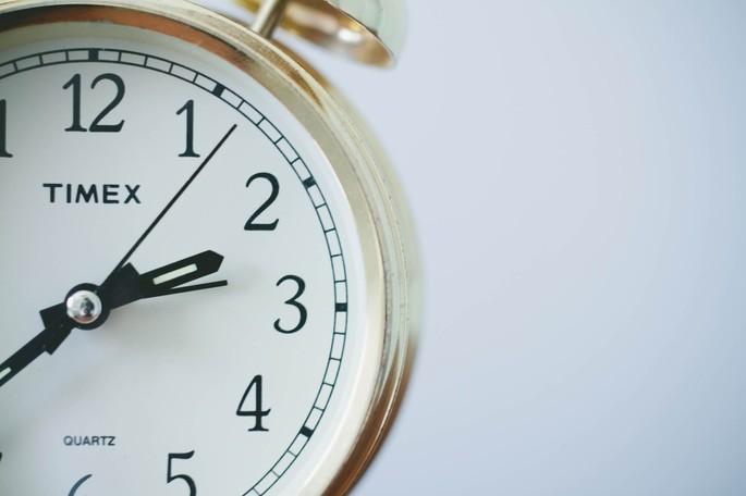 Uma boa gestão do tempo é um dos alicerces de uma transição de carreira